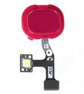 US FP + Flash LED FPCB für M315F Samsung Galaxy M31 - red