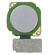 Fingerprint + Flex für (RNE-L01), (RNE-L21) Huawei Mate 10 Lite - grey