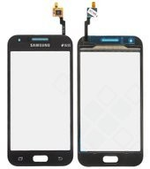Displayglas + Touch für J100H Samsung Galaxy J1 Duos - black
