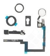 Home Button + Mounting Bracket Set für Apple iPad mini 3 - white