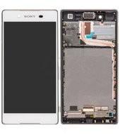 LCD +Touch + Frame für E6553 Sony Xperia Z3+, Xperia Z4 - white