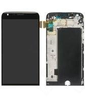 Display (LCD + Touch) + Frame für H850, H840 LG G5, G5 SE - black