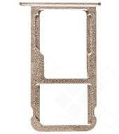 Sim + SD-Card tray gold für Honor V8