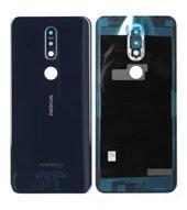Battery Cover für TA-1095 Nokia 7.1 - gloss midnight blue