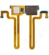 Fingerprint Sensor + Flex white für Huawei Mate S