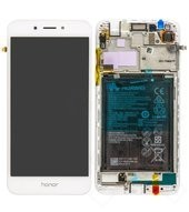 Display (LCD + Touch) + Battery für DLI-AL10 Honor 6A - gold silver