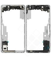 Middle Cover + Camera glass white für Sony Xperia C4, C4 Dual