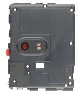 Camera Lens + Deco für TA-1057, TA-1063 Nokia 3.1 - black chrome