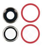 Main Camera Lens + Bezel für Apple iPhone 11 - red