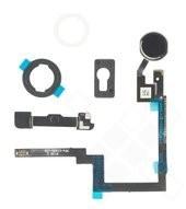 Home Button + Mounting Bracket Set für Apple iPad mini 3 - black