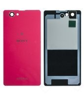 Akkudeckel / Backcover pink für Sony Xperia Z1 Compact