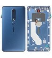 Battery Cover NFC für TA-1043 Nokia 6.1 Dual - blue gold