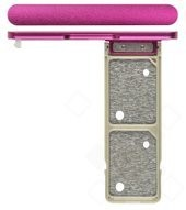 SIM Tray für G3412 Sony Xperia XA1 Plus Dual - pink