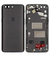 Battery Cover für A5000 OnePlus 5 - midnight black