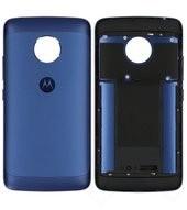 Battery Cover für (XT1675), (XT1676) Lenovo / Motorola Moto G5 - saphire blue