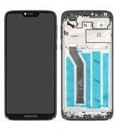 Display (LCD + Touch) + Frame für XT1955 Motorola Moto G7 Power - black