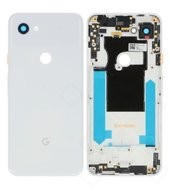 Battery Cover für G020A, G020E Google Pixel 3a - clearly white