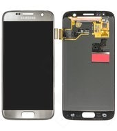 LCD + Touch für G930F Samsung Galaxy S7 - silver