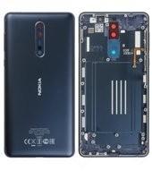 Battery Cover für (TA-1012) Nokia 8 DUAL - tempered blue