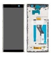 Display (LCD + Touch) + Frame für H3413, H4413, H4493 Sony Xperia XA2 Plus - gold