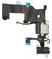 Charging Port +Audio Jack + Microphone + Flex für Apple iPhone 5 - white