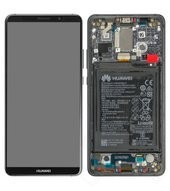 Display (LCD + Touch) + Frame + Battery für BLA-L09, BLA-L29 Huawei Mate 10 Pro - titanium grey