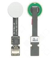 Fingerprint Sensor + Flex für (H8216, H8266, H8314, H8324) Sony Xperia XZ2, XZ2 Compact - liquid sil