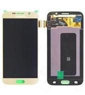 Display (LCD + Touch) für G920F Samsung Galaxy S6 - gold