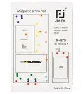 Magnetic Screws Mat für Apple iPhone X