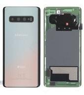 Battery Cover für G973F Samsung Galaxy S10 DUOS - silver