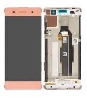 LCD + Touch + Front für F3111, F3112 Sony Xperia XA - rose gold