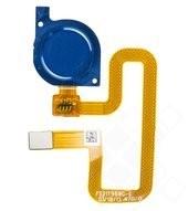 Fingerprint + Flex für FLA-L21 Huawei Y9 (2018) - blue
