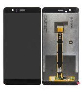 LCD + Touch black für Honor V8