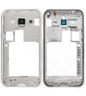 Middle frame white für Samsung J100H Galaxy J1 Duos