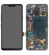 Display (LCD + Touch) + Frame für G710EM LG G7 ThinQ - new aurora black