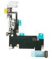 Charging Port + Audio Jack + Microphone + Flex für Apple iPhone 6s Plus - white