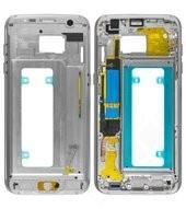 Main Frame silver für Samsung G935F Galaxy S7 Edge SWAP