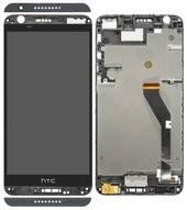 Display (LCD + Touch) + Frame für HTC Desire 820 - black