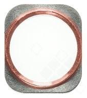 Home Button Bracket gold-rose für Apple iPhone 6s