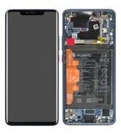 LCD + Touch + Frame + Battery für LYA-L09, LYA-L0C Huawei Mate 20 Pro - midnight blue