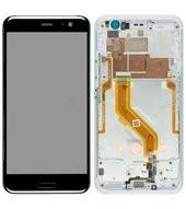 LCD + Touch + Frame für HTC U11 - ice white