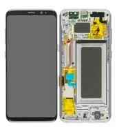 LCD + Touch für G950F Samsung Galaxy S8 - arctic silver