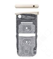 SIM Tray für XT1650 Motorola Moto Z - white