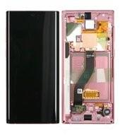 Display (LCD + Touch) + Frame für N970F Samsung Galaxy Note 10 - aura pink