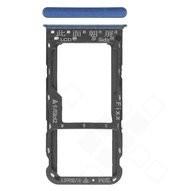 SIM Tray für (FIG-L31) Huawei P Smart - blue