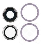 Main Camera Lens + Bezel für Apple iPhone 11 - purple