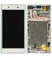 Display (LCD + Touch) + Frame für E6633, E6683 Sony Xperia Z5 Dual - white