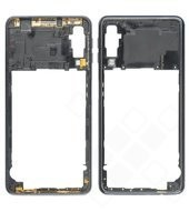 Rear Frame für A750F Samsung Galaxy A7 (2018) - black