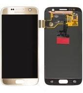 LCD + Touch für G930F Samsung Galaxy S7 - gold
