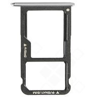 Sim / SD Tray für (VNS-L21), (L31) Huawei P9 Lite - silver